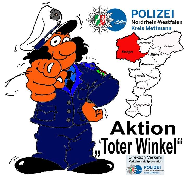 "POL-ME: Der ""Tote Winkel"" kann jedermann interessieren ! - Ratingen - 1805088"