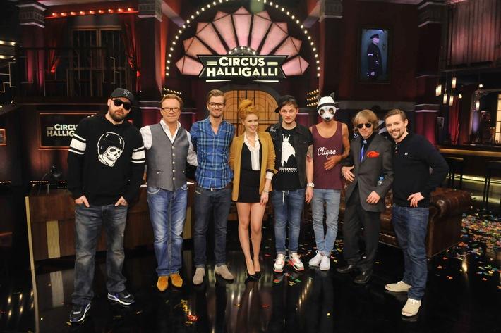 """""""CIRCUS HALLIGALLI"""" mit Joko & Klaas feiert mit 16,9 Prozent starke Premiere auf ProSieben (BILD)"""