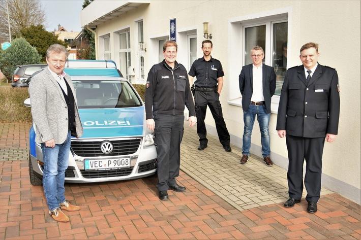 POL-CLP: Visbek- Personeller Umbruch bei der Polizeistation in Visbek (mit Fotos)