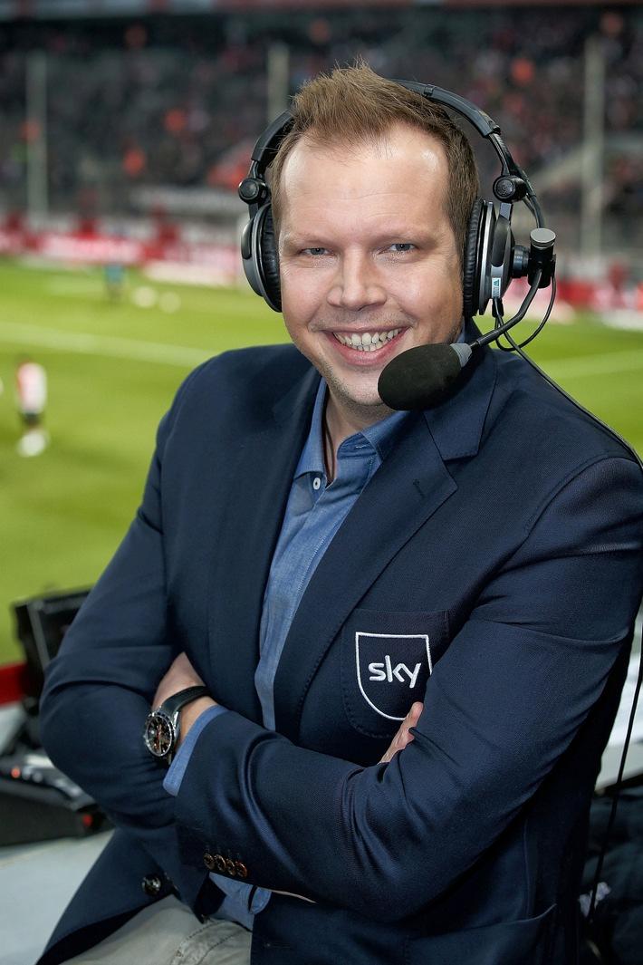 """Wolff-Christoph Fuss kommentiert alle 25 Ultra-HD-Spiele der FIFA WM 2018 bei Sky Weiterer Text über ots und www.presseportal.de/nr/33221 / Die Verwendung dieses Bildes ist für redaktionelle Zwecke honorarfrei. Veröffentlichung bitte unter Quellenangabe: """"obs/Sky Deutschland/Sky / Firo"""""""
