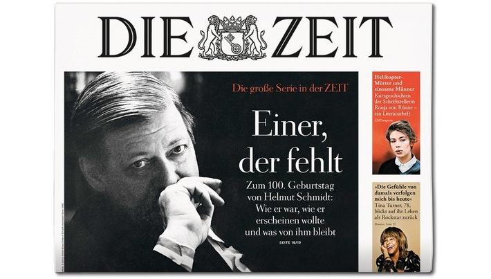 DIE ZEIT 42/18 Weiterer Text ber ots und www.presseportal.de/nr/9377 / Die Verwendung dieses Bildes ist fr redaktionelle Zwecke honorarfrei. Verffentlichung bitte unter Quellenangabe: