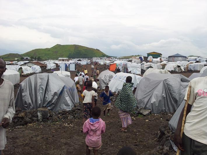 World Vision DR Kongo: Flüchtlinge aus der Region Kasai