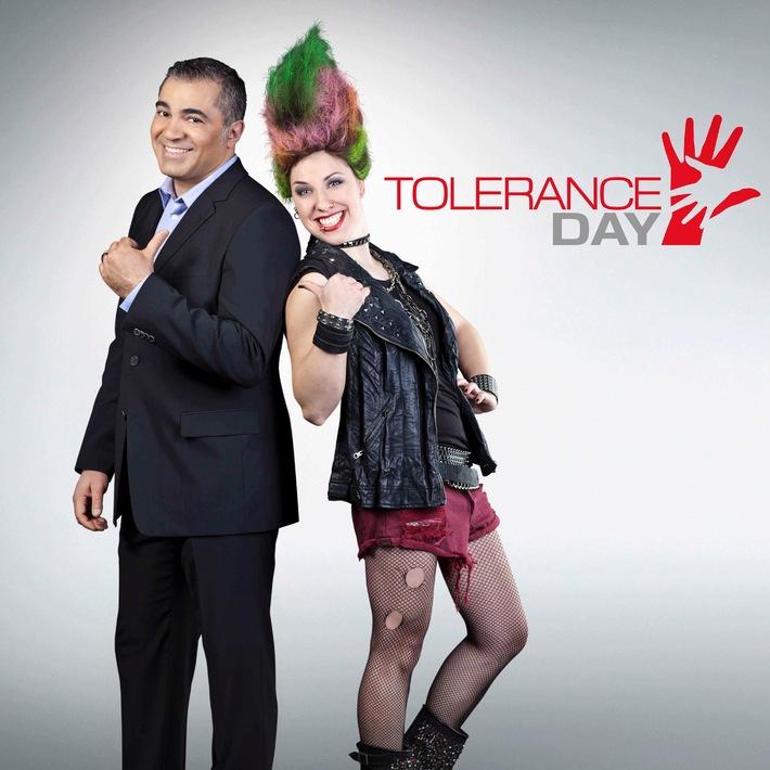 """Enjoy Difference, Start Tolerance:  ProSieben macht den 8. April zum  """"Tolerance Day"""" (mit Bild)"""