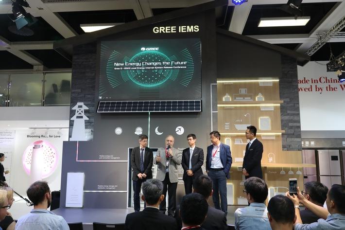 Der Auftritt des Energieinternetsystems G-IEMS von GREE bei der IFA