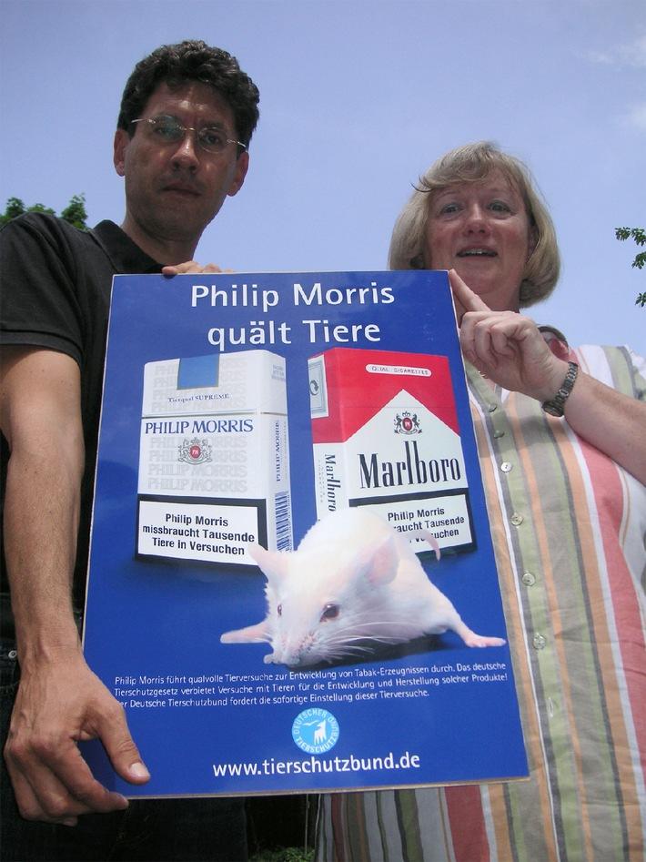 Tierversuche: Deutscher Tierschutzbund erstattet Anzeige gegen Philip Morris