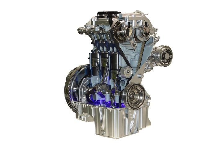 """1,0-Liter-EcoBoost-Dreizylinder-Motor von Ford zum sechsten Mal in Folge """"International Engine of the Year"""""""
