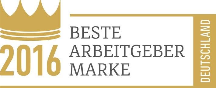 Begeisternd: BFFT ist Beste Arbeitgeber Marke 2016 / BFFT zeigt beim Employer Branding Award 2016, wie man Mitarbeiter begeistert & landet als Hidden Champion auf Platz 1 beim Internal Branding