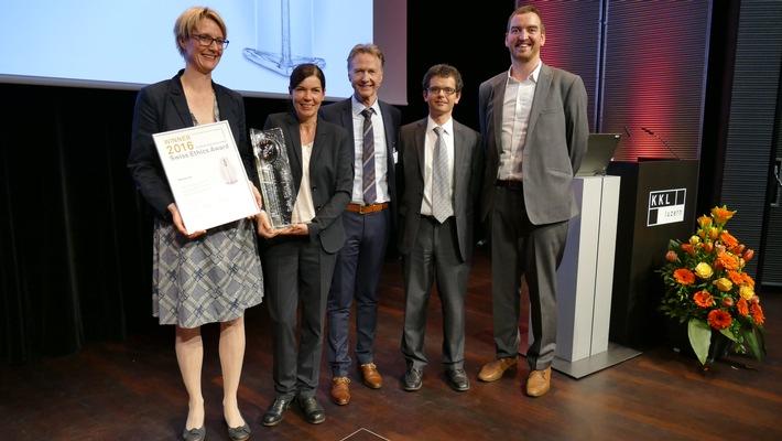 Weleda gewinnt Swiss Ethics Award 2016