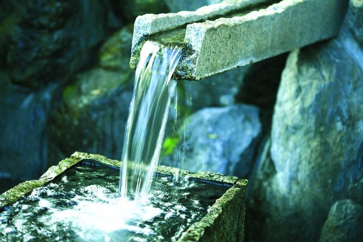 Wasser als Lebensmittel ist unsere Lebensbais. Bild: Fotolia 16787447 Paylessimages