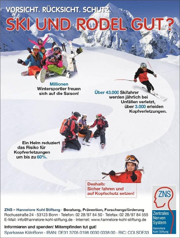 Sicher durch den Winter - Tipps der ZNS - Hannelore Kohl Stiftung