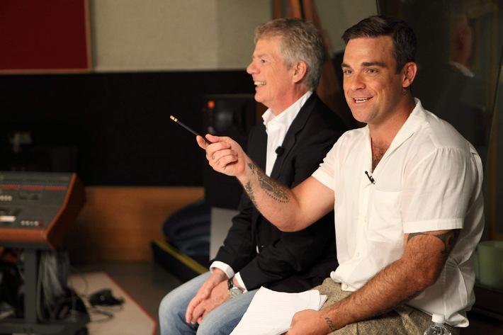 Robbie Williams und POPSTARS live treffen! Meet and Greet zugunsten des RED NOSE DAY (mit Bild)
