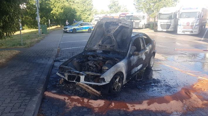 Brandfahrzeug BMW 3er