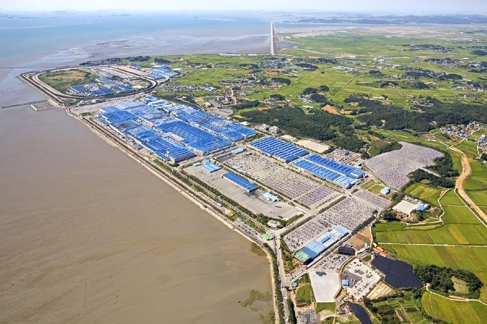 Koreanische Kia-Werke konsequent auf Umwelt-Kurs