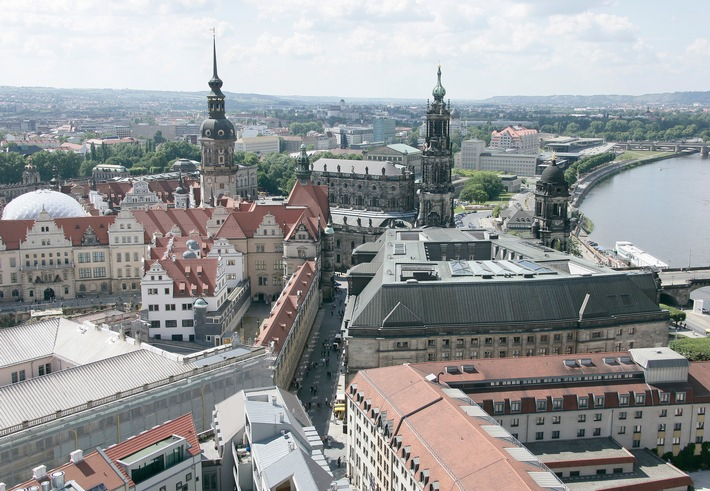 Dresden - eine Stadt im Zwielicht