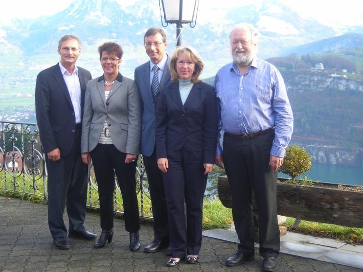 Die kantonalen Forstdirektoren und die Jagddirektoren trafen sich zur Herbstkonferenz