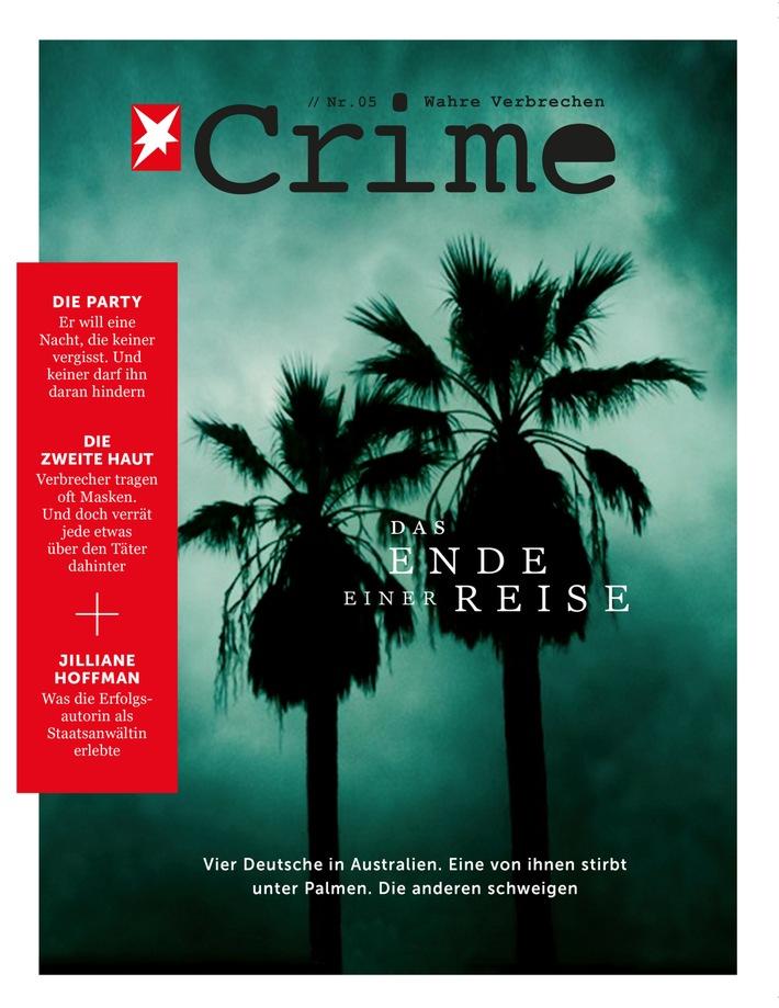 """Jiliane Hoffman im STERN CRIME-Interview: """"Trauen Sie keinem gut aussehenden Menschen."""""""