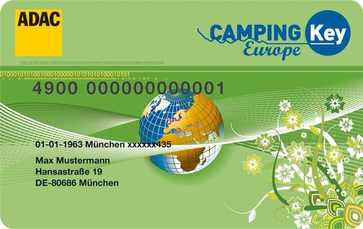 Camping Key Europe - die Rabattkarte mit besonderen Leistungen.