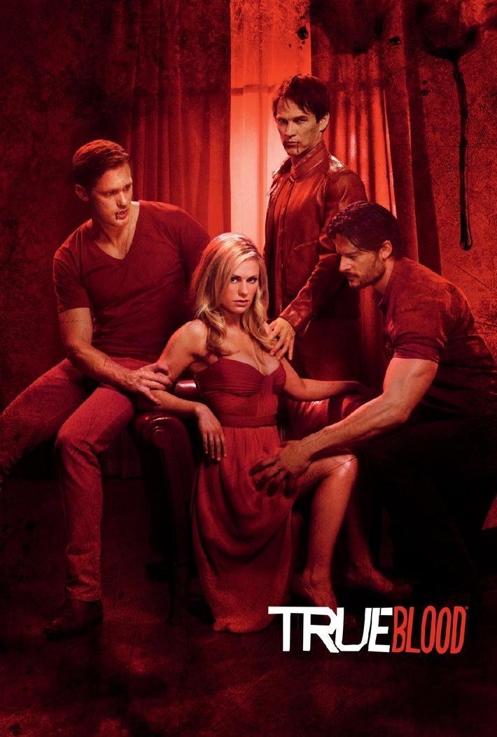 """Gut bis(s) zum letzten Tropfen! / Syfy zeigt die vierte Staffel von """"True Blood"""" als deutsche TV-Premiere / Ab 9. Februar immer donnerstags um 20.15 Uhr in Doppelfolge und mit Originalton-Option"""