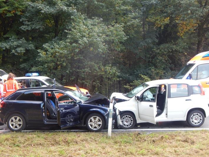 POL-PDMT: schwerer Verkehrsunfall mit Schwerverletzten
