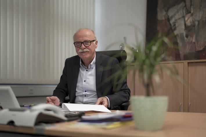 Polizeivizepräsident des PP Mainz Werner Reichert geht in den Ruhestand -