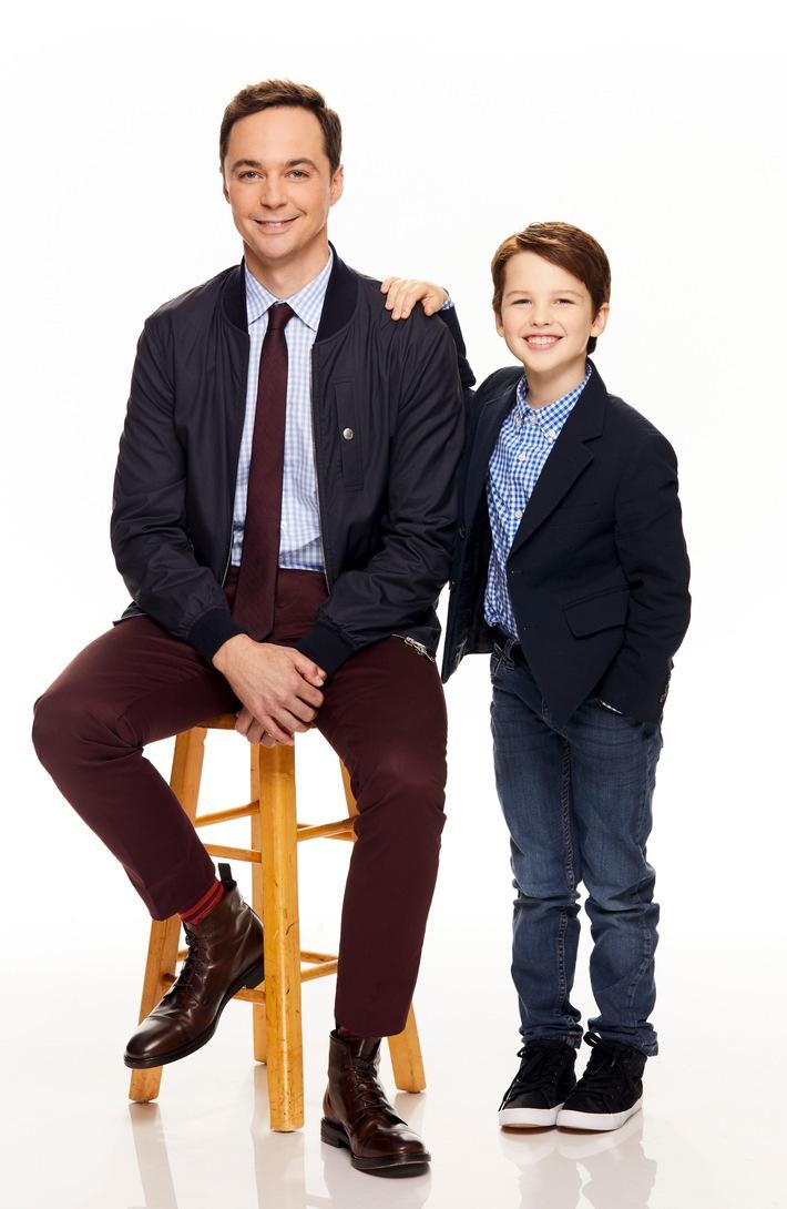 in The Little Bang Theory: Ab 8. Januar erzählt der US-Serien-Hit Young Sheldon die Kindheit des Super-Nerds Sheldon Cooper auf ProSieben