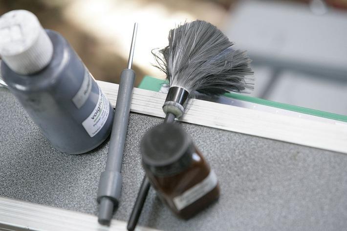 Werkzeug zur Spurensicherung (Beispielbild)