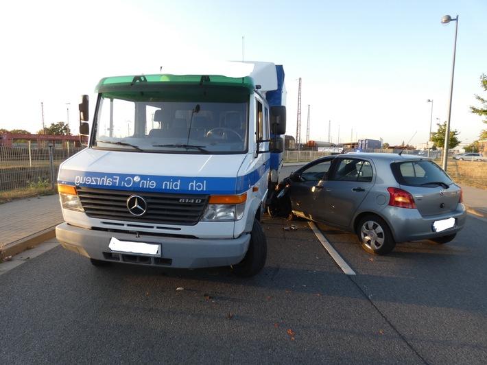 Foto der Unfallstelle
