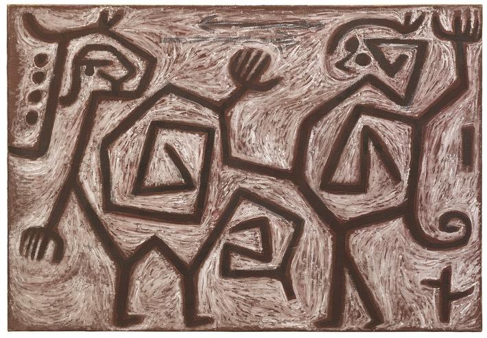 """Paul Klee, Zank=Duett, 1938, Hilti Art Foundation. Weiterer Text über ots und www.presseportal.de/nr/132706 / Die Verwendung dieses Bildes ist für redaktionelle Zwecke honorarfrei. Veröffentlichung bitte unter Quellenangabe: """"obs/Hilti Art Foundation"""""""