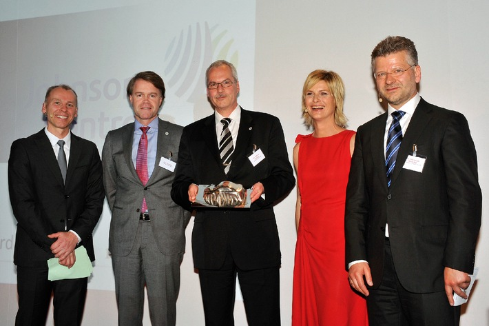 Johnson Controls honored for being the most innovative supplier of automotive interiors (BILD)