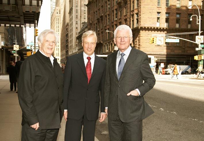 Stadt Hamburg und NDR stellen in New York Elbphilharmonie vor