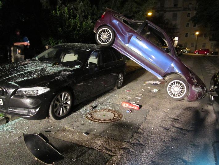 POL-DA: Verkehrsunfall mit leicht verletzter Person und Sachschadensfolge