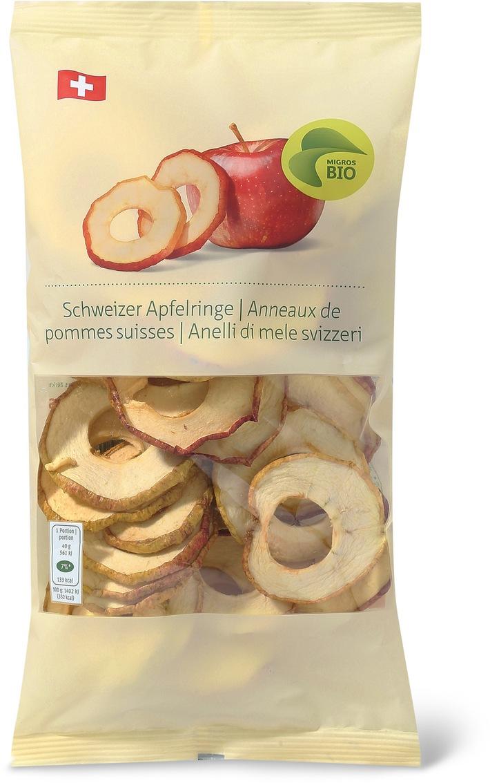 Migros rappelle les Anneaux de pommes Bio suisses