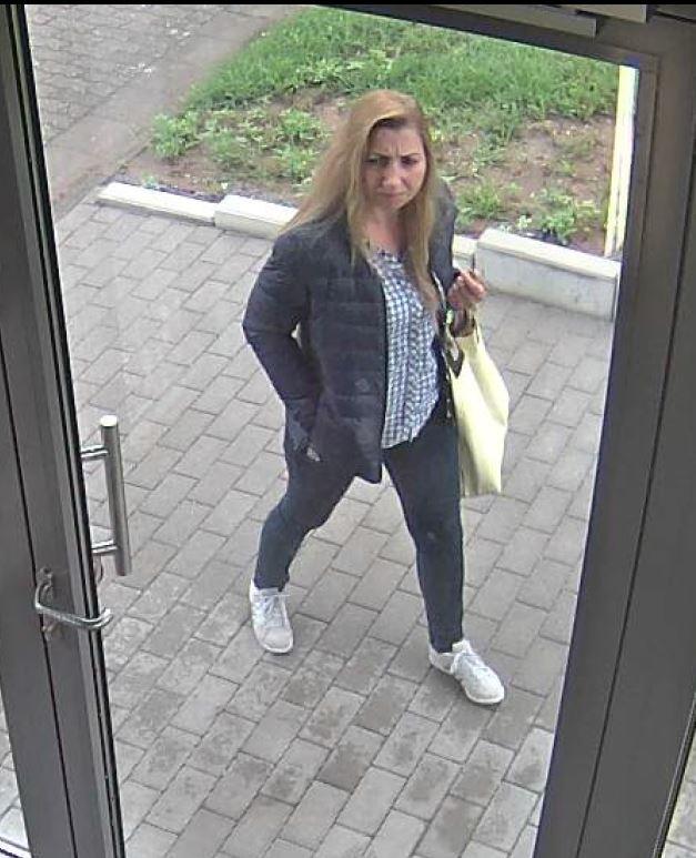 Wer kennt diese Frau?