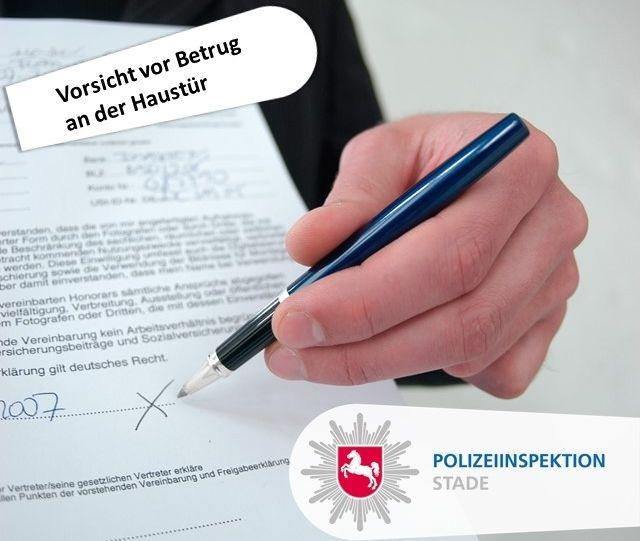 POL-STD: Einbruch in Buxtehuder Postpaketlager, Polizei und Elbeklinikum warnen vor Betrügern an der Haustür