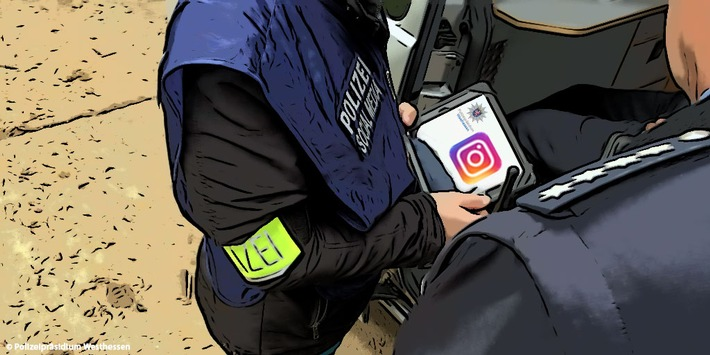 Foto Polizei Westhessen - Ein Jahr Instagram