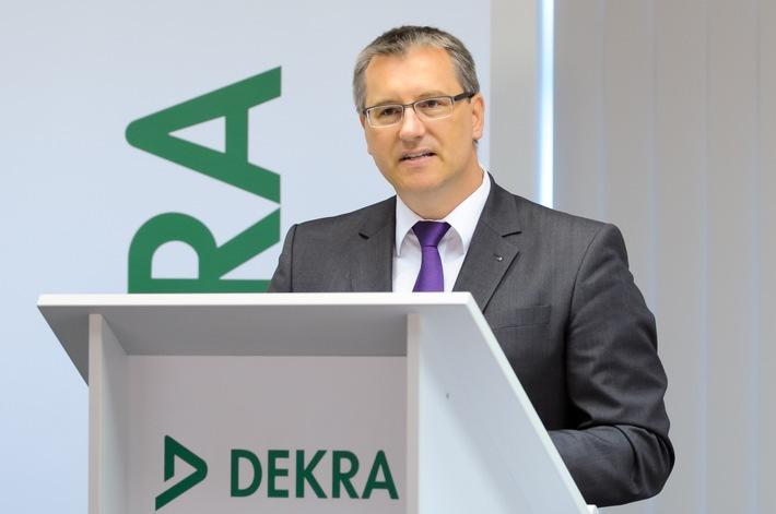 DEKRA investiert in das Internet der Dinge / Hohe Wachstumsdynamik und neue Rekordbilanz