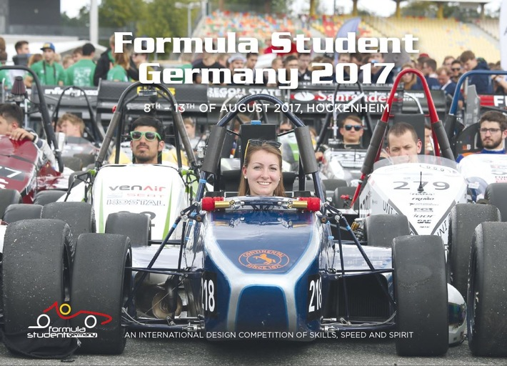 Save the Date: Formula Student Germany 8 ? 13. August 2017