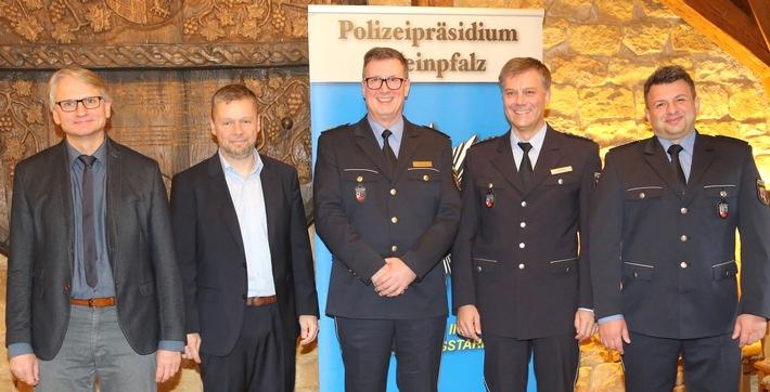 Führungswechsel bei der Kriminalinspektion Neustadt, der Polizeiautobahnstation und den Zentralen Verkehrsdiensten