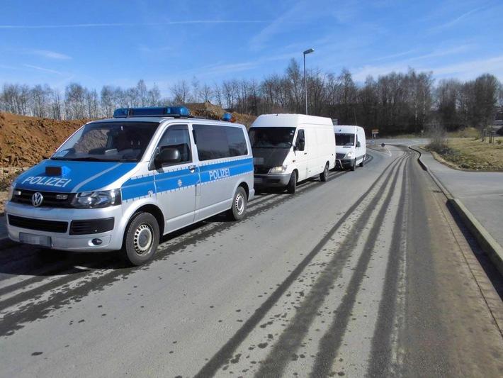 POL-MK: Schrottsammler-Duo stillgelegt