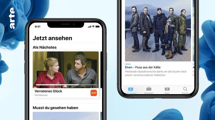 """ARTE / Apple TV App. Weiterer Text über ots und www.presseportal.de/nr/9021 / Die Verwendung dieses Bildes ist für redaktionelle Zwecke honorarfrei. Veröffentlichung bitte unter Quellenangabe: """"obs/ARTE G.E.I.E."""""""