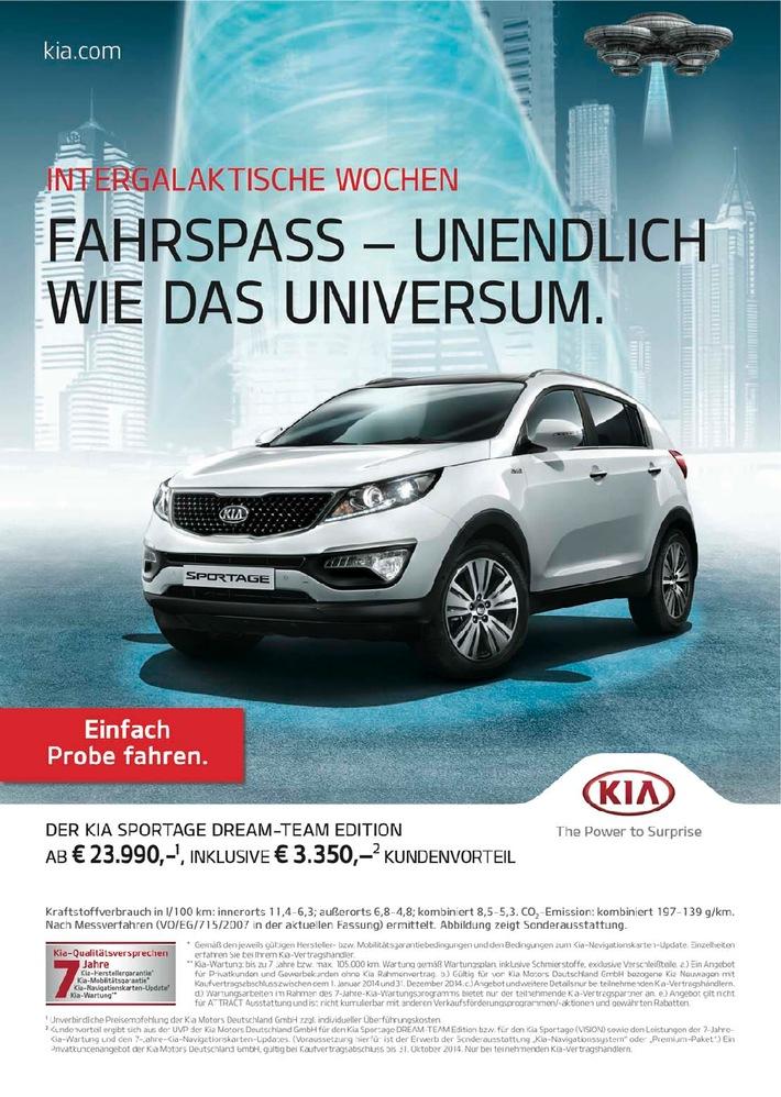 """Willkommen im Kia-Kosmos: Automobilhersteller startet """"Intergalaktische Wochen"""""""