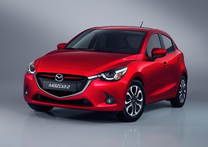 Neuer Mazda2 ist Auto des Jahres in Japan