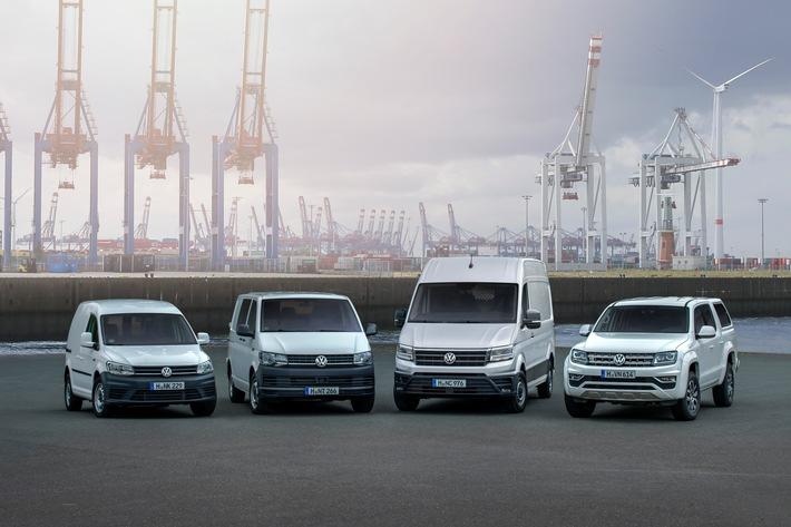Volkswagen Nutzfahrzeuge: Weltweite Auslieferungen steigen im ersten Halbjahr um 3,6 Prozent