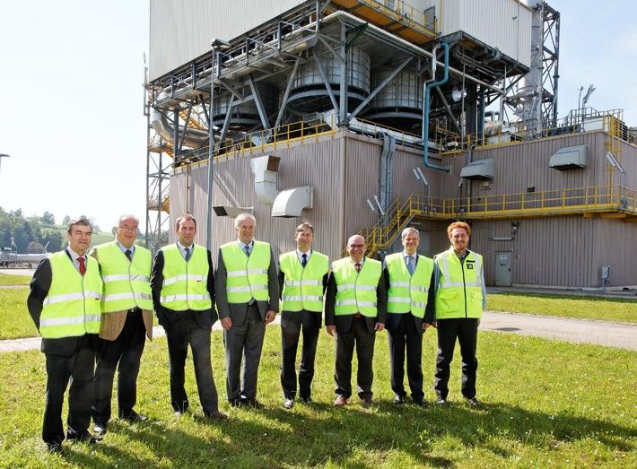Le ministre belge de l'Energie visite les installations Transitgaz