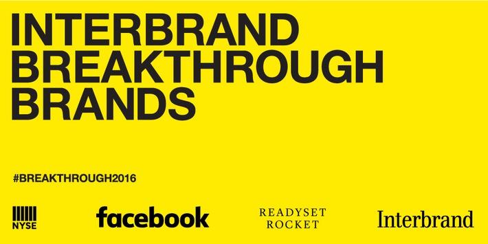 Launch der ersten Interbrand Breakthrough Brands 2016 - vom Startup zur etablierten Marke / Aus Deutschland dabei: mymuesli und Deliveroo