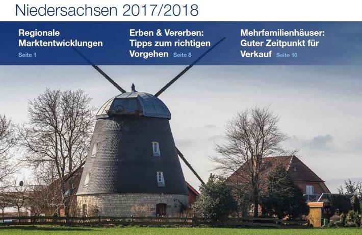 PM Immobilienmarktzahlen Niedersachsen 2017 | PlanetHome Group GmbH