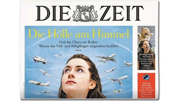 Cover DIE ZEIT 33_18. Weiterer Text ber ots und www.presseportal.de/nr/9377 / Die Verwendung dieses Bildes ist fr redaktionelle Zwecke honorarfrei. Verffentlichung bitte unter Quellenangabe:
