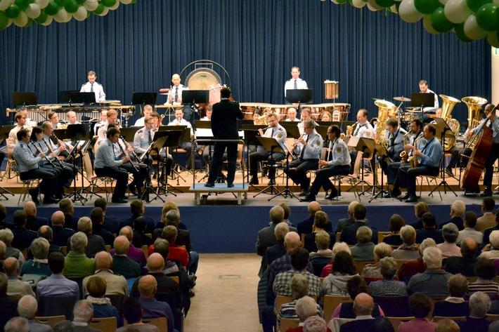 Neujahrskonzert des Bundespolizeiorchesters München in Prüm; Foto: Bundespolizei