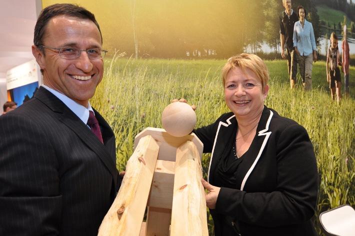 ITB 2012: Weltneuheit in der der Region Hall-Wattens
