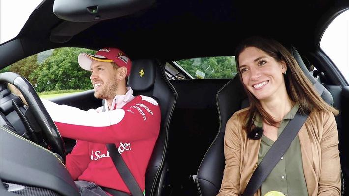 """GRIP - Das Motormagazin: """"Cyndie Allemann gegen Sebastian Vettel"""""""
